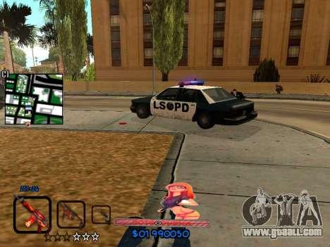 C-HUD by HudMud for GTA San Andreas fifth screenshot