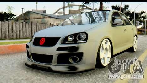 Volkswagen Bora GLI 2010 Tuned for GTA San Andreas