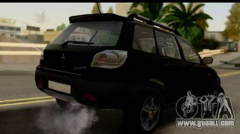 Mitsubishi Outlander for GTA San Andreas left view