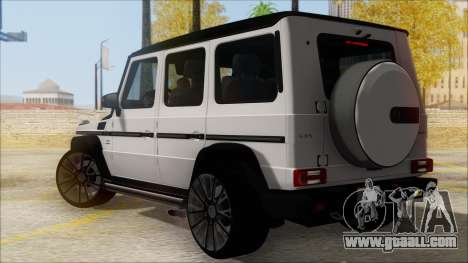 Mersedes-Benz G500 Brabus for GTA San Andreas left view