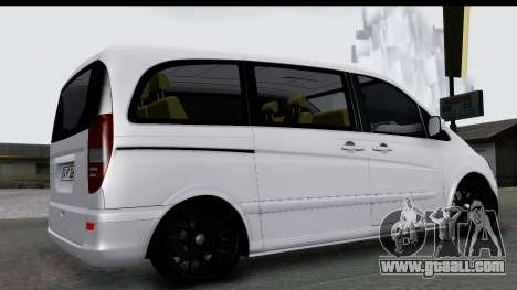 Mercedes-Benz Viano 2010 for GTA San Andreas left view