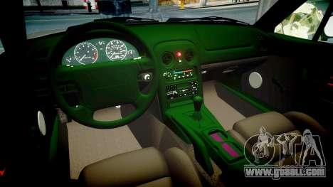 Mazda MX-5 Miata NA 1994 [EPM] for GTA 4 inner view
