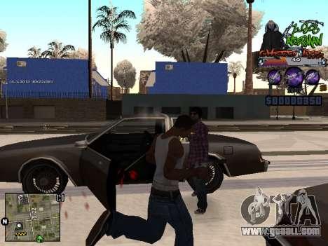 C-HUD Les Alterman for GTA San Andreas