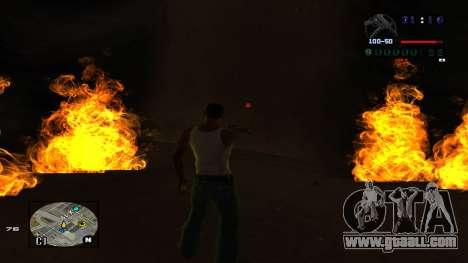 C-HUD Politra for GTA San Andreas forth screenshot