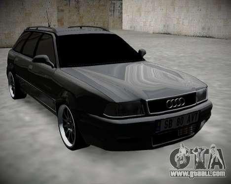 Audi 80 B4 Avant BAN.RF for GTA San Andreas back left view