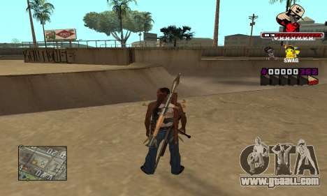 C-HUD SWAG for GTA San Andreas second screenshot