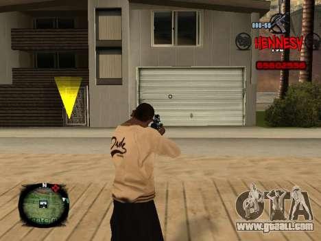C-HUD Hennesy for GTA San Andreas second screenshot