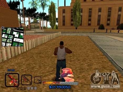 C-HUD by HudMud for GTA San Andreas