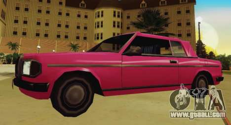 Admiral Cabriolet v3.0 for GTA San Andreas left view