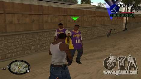 C-HUD by Kidd for GTA San Andreas second screenshot