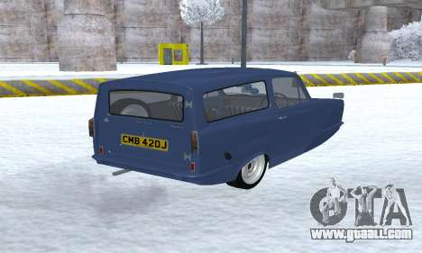 Reliant Supervan III for GTA San Andreas back view