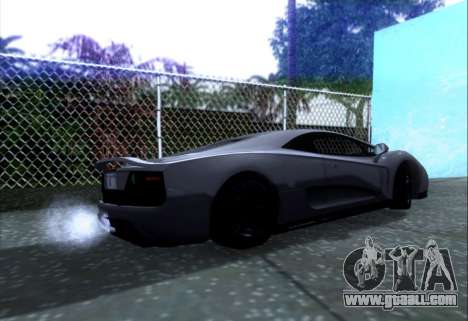 Scalfati GT (Watch Dogs) for GTA San Andreas left view