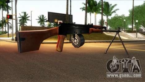MG from GTA 5 for GTA San Andreas second screenshot