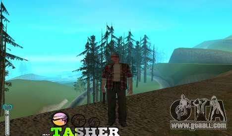 C-HUD Tasher for GTA San Andreas