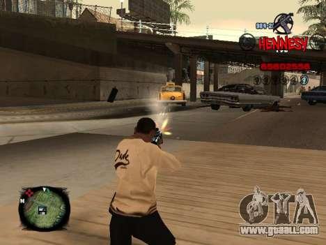 C-HUD Hennesy for GTA San Andreas