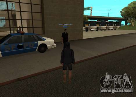New HP color of the players for GTA San Andreas third screenshot