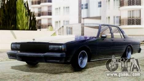 Chevrolet Caprice for GTA San Andreas