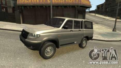UAZ Patriot Pickup v.2.0 for GTA 4 inner view