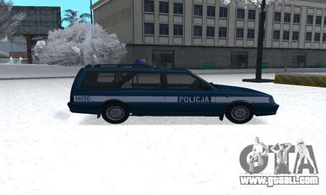 Daewoo-FSO Polonez Kombi 1.6 GSI Police 2000 for GTA San Andreas left view