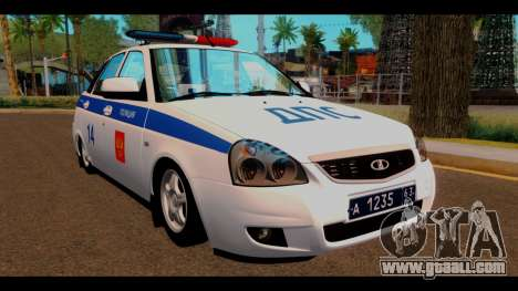 VAZ 2172 Police for GTA San Andreas