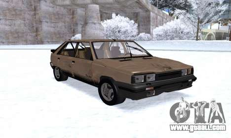 Renault 11 Turbo Phase I 1984 for GTA San Andreas