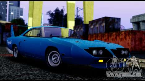 Plymouth Roadrunner Superbird RM23 1970 IVF for GTA San Andreas left view