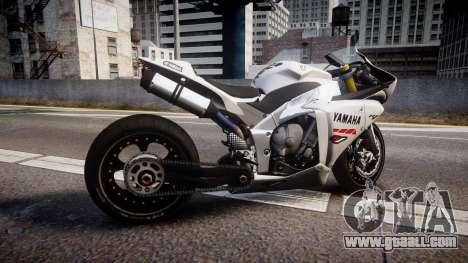 Yamaha YZF-R1 Custom PJ1 for GTA 4 left view