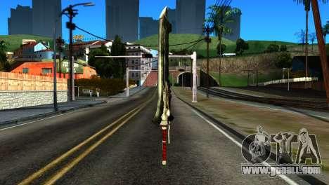New Katana for GTA San Andreas