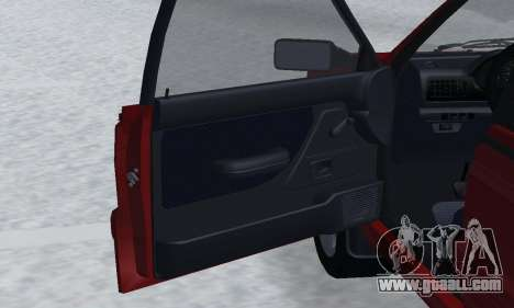 Daewoo FSO Polonez P-120 Concept 1998 for GTA San Andreas interior
