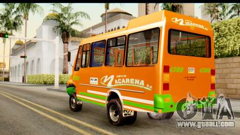 Dodge Ram Microbus for GTA San Andreas left view