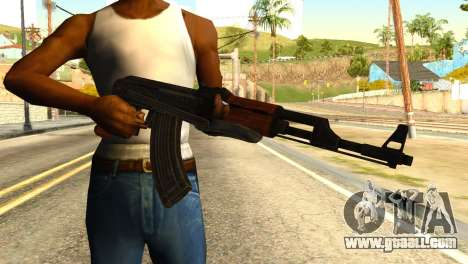 AK47 from Global Ops: Commando Libya for GTA San Andreas third screenshot