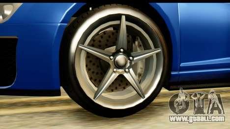 GTA 5 Obey 9F Cabrio for GTA San Andreas right view