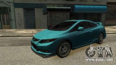 Honda Civic Si 2013 v1.0 for GTA 4