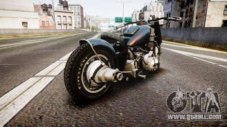 BMW R75 Bobber for GTA 4