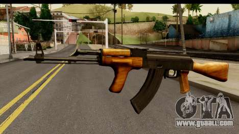 Modified AK47 for GTA San Andreas