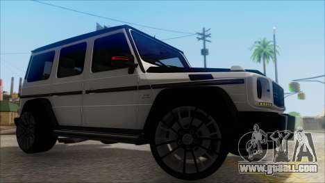 Mersedes-Benz G500 Brabus for GTA San Andreas right view