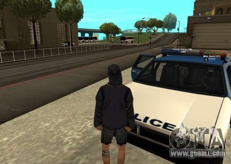 New HP color of the players for GTA San Andreas