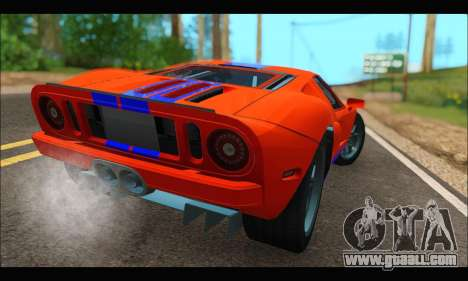 Ford GT 2006 for GTA San Andreas
