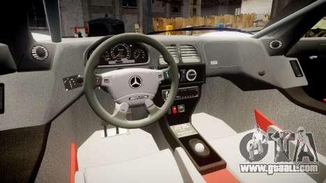 Mercedes-Benz CLK LM 1998 PJ35 for GTA 4 back view