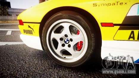 BMW E31 850CSi 1995 [EPM] E-Post Brief for GTA 4 back view