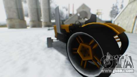 Tractor Kor4 for GTA San Andreas right view