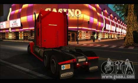 Freightliner Coronado v.2 for GTA San Andreas left view