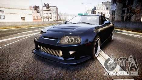 Toyota Supra Tuned for GTA 4