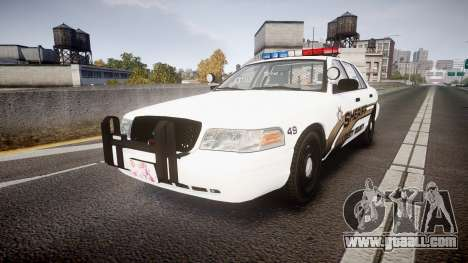 Ford Crown Victoria LCSO [ELS] Edge for GTA 4