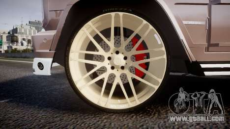 Mercedes-Benz G65 Brabus rims1 for GTA 4 back view