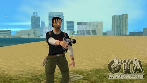 Gun Boran X for GTA Vice City second screenshot