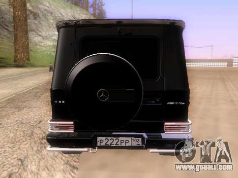 Mercedes-Benz G55 AMG for GTA San Andreas right view