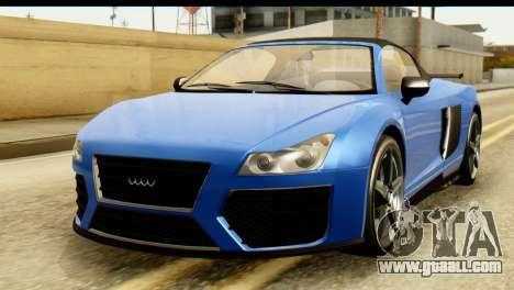 GTA 5 Obey 9F Cabrio for GTA San Andreas