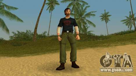 Kurtis Trent v.2 for GTA Vice City