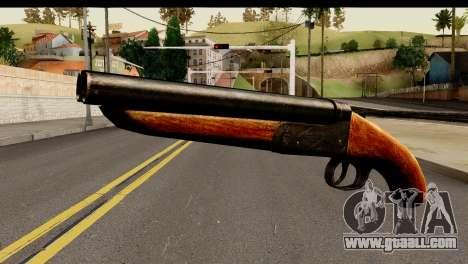 Sawnoff Shotgun HD for GTA San Andreas